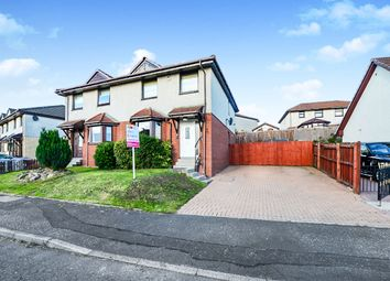 Thumbnail 3 bedroom semi-detached house for sale in Crieff Avenue, Chapelhall, Airdrie