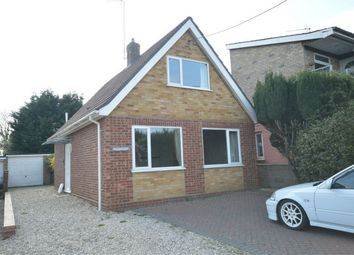 Thumbnail 2 bed detached bungalow for sale in Coltishall Road, Buxton, Norwich