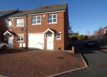 Thumbnail 3 bed town house for sale in Old Engine Close, Mirfield