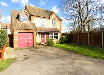 Thumbnail 4 bed detached house for sale in Capulet Close, Eaton Socon, St. Neots, Cambridgeshire