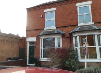 Thumbnail 3 bed end terrace house to rent in Trafalgar Road, Birmingham