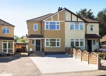 Thumbnail 3 bed semi-detached house for sale in Alma Crescent, Cheam, Sutton