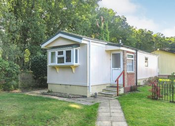 Thumbnail 2 bed mobile/park home for sale in Gladelands Park, Ringwood Road, Ferndown
