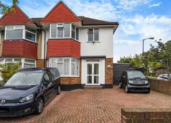 Thumbnail 3 bed semi-detached house for sale in Burntwood Close, London