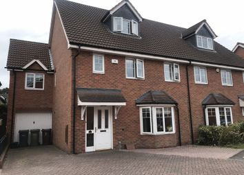 Thumbnail 5 bed semi-detached house to rent in Edwardian Close, Shirley, Solihull