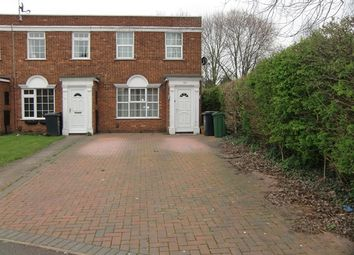 Thumbnail 2 bed end terrace house to rent in Wolsey Way, Syston, Leicester