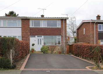Thumbnail 3 bed end terrace house for sale in Wool Grove, Andover