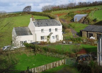 Thumbnail 5 bedroom farmhouse for sale in Rural Cottage & Land, Brendon, Lynton