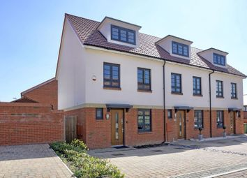 Thumbnail 3 bed end terrace house for sale in Leightonhouse Close, St. Neots, Cambridgeshire