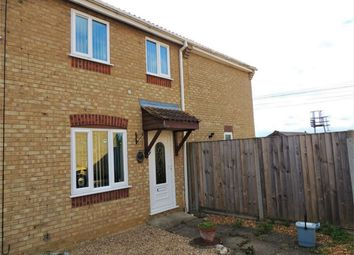 Thumbnail 4 bed end terrace house for sale in Bure Close, Watlington, King's Lynn