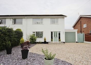 Thumbnail 3 bed semi-detached house for sale in Sandham Grove, Heswall, Wirral