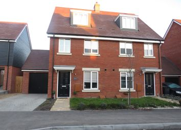 Thumbnail 3 bed town house for sale in Ouse Way, Biggleswade