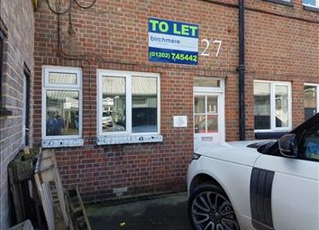 Office to let in Unit 27 Old Street, Bailey Gate Industrial Estate, Wimborne, Dorset BH21