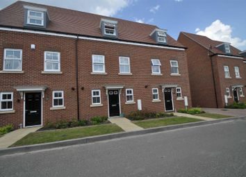Thumbnail 3 bed terraced house to rent in Lawley Way, Droitwich