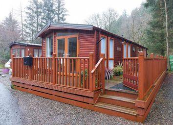 Thumbnail 2 bedroom mobile/park home for sale in Glendevon Park, Glendevon, Dollar