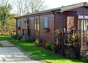 Thumbnail 2 bedroom mobile/park home for sale in The Coastal Lodge, Rosewater Park, Treroosel Road, St Teath