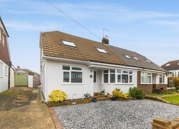Thumbnail 5 bed semi-detached house for sale in Meadway Crescent, Hove