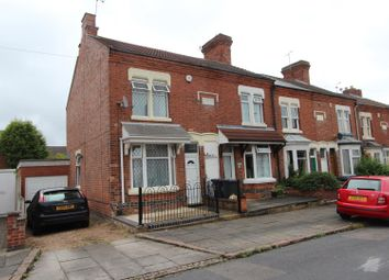 Thumbnail 2 bed terraced house to rent in Burgess Road, Leicester