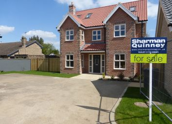 Thumbnail 5 bedroom detached house for sale in London Road, Yaxley, Peterborough