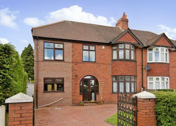 Thumbnail 4 bed semi-detached house for sale in Ogley Road, Brownhills, Walsall