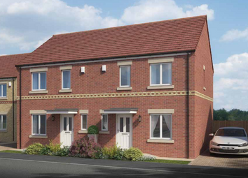 Thumbnail 3 bed semi-detached house for sale in The Langley, Bedford Sidings, South Church Road, Bishop Auckland, County Durham