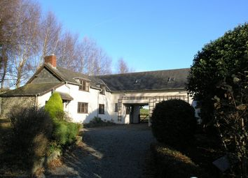 Thumbnail 3 bed detached house for sale in Llanwnog, Caersws