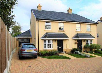 Thumbnail 3 bed semi-detached house for sale in The Poppies, Benfleet, Essex