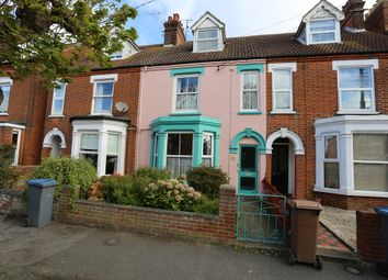 Thumbnail 3 bedroom terraced house for sale in Gainsborough Road, Felixstowe