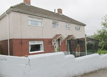 Thumbnail 3 bed semi-detached house for sale in Brookfield Avenue, Rhymney, Tredegar