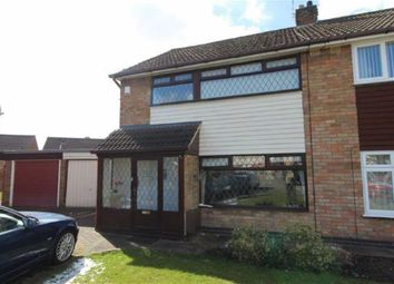 Thumbnail 3 bedroom semi-detached house for sale in Oddicombe Croft, Styvechale, Coventry, 5Pb, Coventry