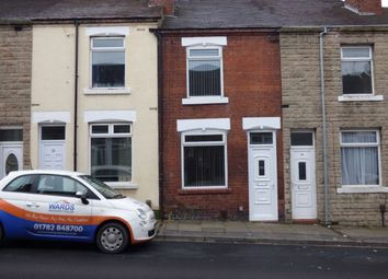 Thumbnail 2 bed terraced house to rent in Stanfield Road, Burslem, Stoke-On-Trent