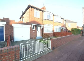 Thumbnail 3 bed semi-detached house for sale in Dovedale Gardens, High Heaton, Newcastle Upon Tyne