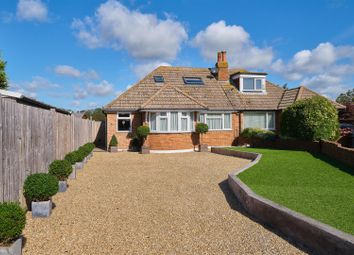 Thumbnail 3 bedroom semi-detached bungalow for sale in Battle Close, Seaford