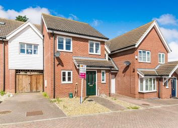 Thumbnail 2 bed terraced house for sale in Jamestown Close, Harwich