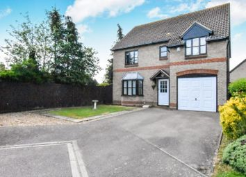Thumbnail 4 bed detached house for sale in Parrish Close, Marston Moretaine