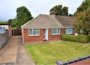 Thumbnail 2 bedroom semi-detached bungalow for sale in Pitman Close, Berg Estate, Basingstoke
