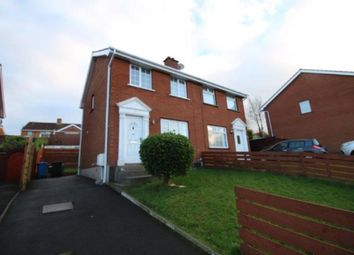 Thumbnail 3 bed semi-detached house for sale in Manor Park, Bangor