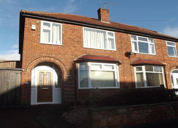 Thumbnail 3 bed semi-detached house to rent in Elvaston Road, Wollaton, Nottingham