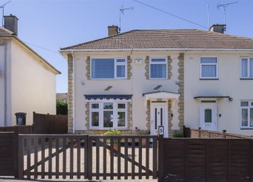 Thumbnail 3 bed semi-detached house for sale in Amos Road, Leicester