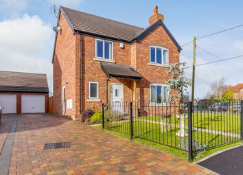 Thumbnail 4 bed detached house for sale in Fox Close, Dudleston Heath, Ellesmere, Ellesmere, Shropshire