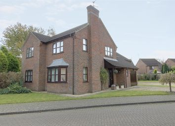 Thumbnail 3 bed detached house for sale in Aveland Way, Baston, Peterborough