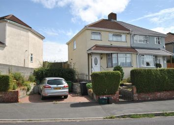 Thumbnail 3 bed semi-detached house for sale in Novers Park Drive, Knowle, Bristol