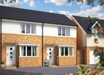 "Thumbnail 2 bedroom terraced house for sale in ""The Sherston"" at Mayfield Way, Cranbrook, Exeter"