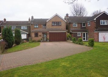 Thumbnail 4 bed detached house for sale in Fernleigh Road, Walsall