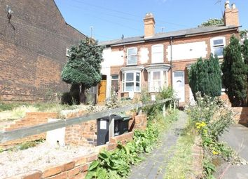 Thumbnail 2 bed terraced house for sale in Sandwell Street, Walsall, West Midlands
