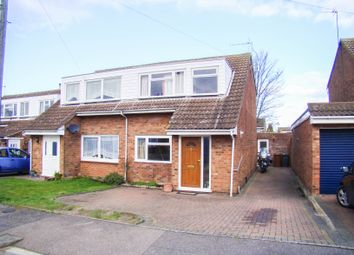 Thumbnail 4 bedroom semi-detached house to rent in Ackroyd Road, Royston, Hertfordshire