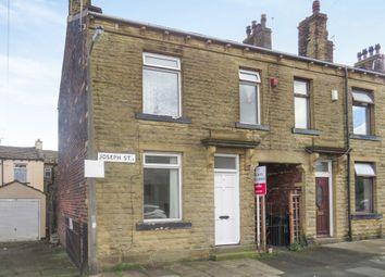 Thumbnail 2 bedroom end terrace house for sale in Joseph Street, Holme Lane, Tong, Bradford