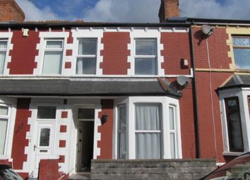Thumbnail 3 bed terraced house to rent in Cora Street, Barry, Vale Of Glamorgan