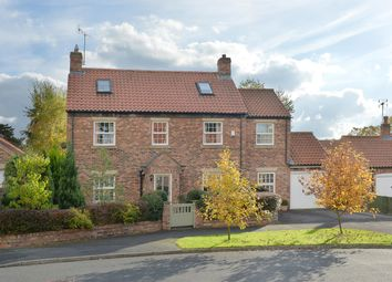 Thumbnail 4 bed detached house for sale in Back Lane, Whixley, York