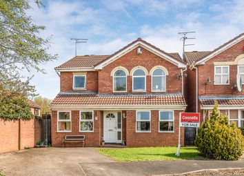 Thumbnail 4 bed detached house for sale in Boardman Crescent, Castlefields, Stafford